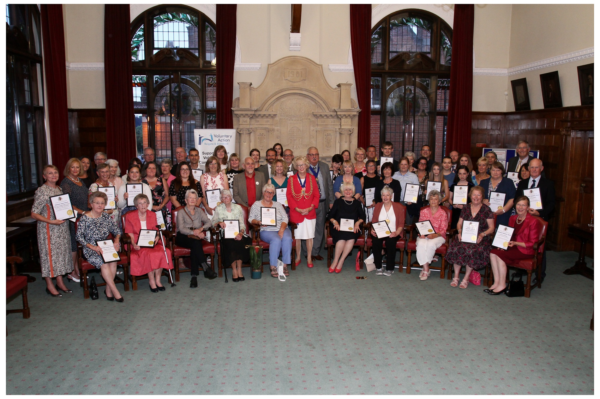 Mayors volunteer award winners 2018