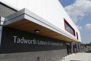 Tadworth leisure centre front