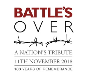 logo for Battle's Over - a Nation's Tribute - 100 years of remembrance