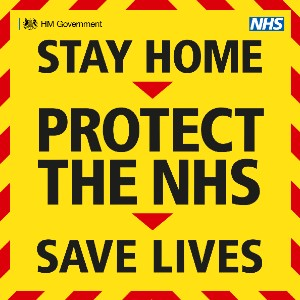 Stay home. Protect the NHS. Save lives.