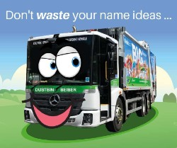 Don't waste your name ideas graphic